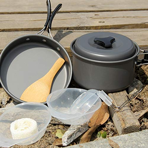 Zhouzl Productos de Camping DS500 Acampar al Aire Libre Ultra Light Peso...