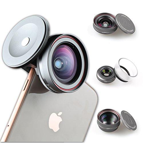 Ztylus Z-Prime - Kit de Lentes 3+1 para Apple iPhone 7, 8, 7 Plus, 8 Plus,...