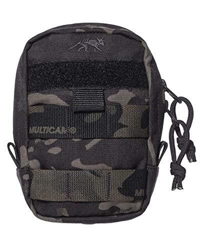 Tasmanian Tiger TT Tac Pouch 1 Vertical Tasche EDC Rucksack-Zusatztasche mit Molle-System und Patch-Fläche, Multicam Black