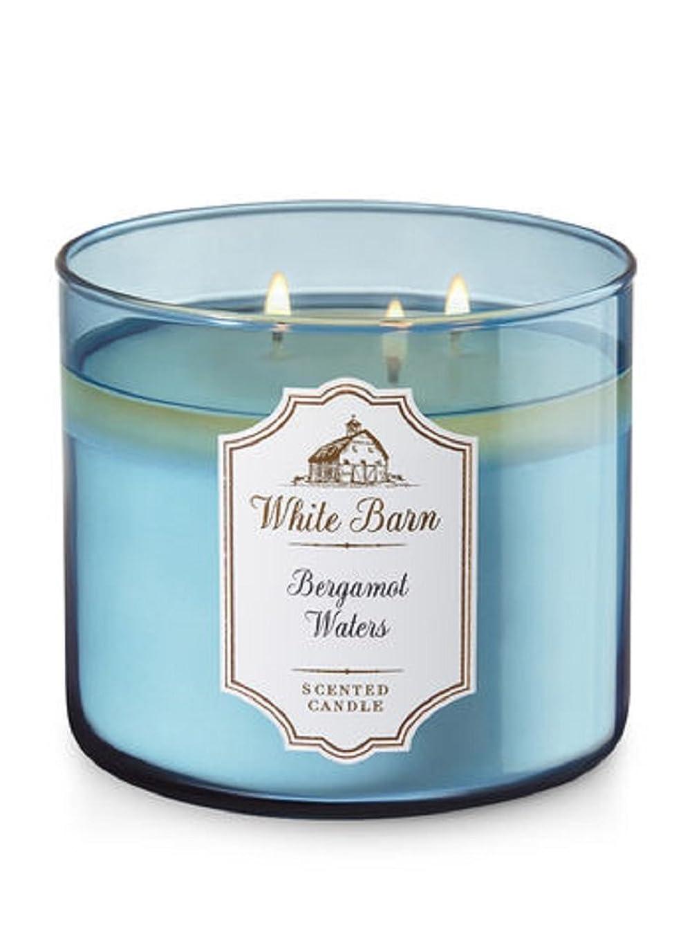 Bath & Body Works 3-Wick Candle in Bergamot Waters