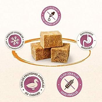IAMS Naturally Friandises pour chats 100 % viande de canard Qualité nutritionnelle et goût préservés – Faible en graisses – Sans : Céréales, OGM, sucres ajoutés, conservateur - Tube de 25g - Lot de 4