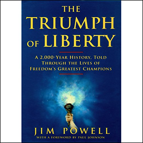 The Triumph of Liberty audiobook cover art