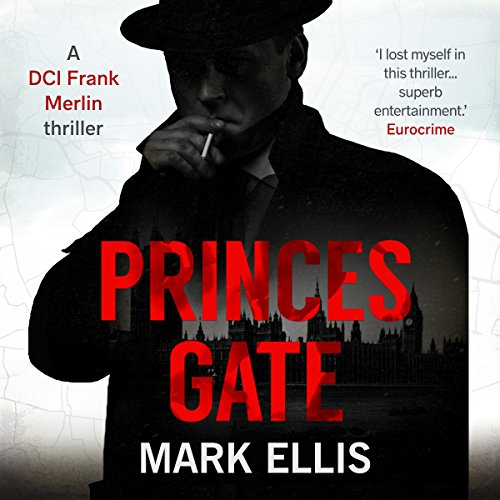 Princes Gate audiobook cover art