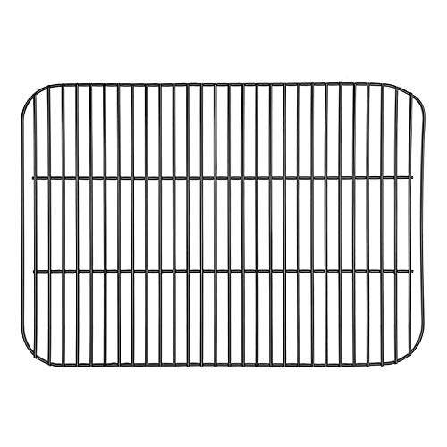 Hisencn Grill Grates Replacement for Royal Gourmet CD1824AX CD1824EC CD1824AC 24 Inch BBQ Charcoal Grill, 23.5 inch Porcelain Coating Steel Cooking Grid