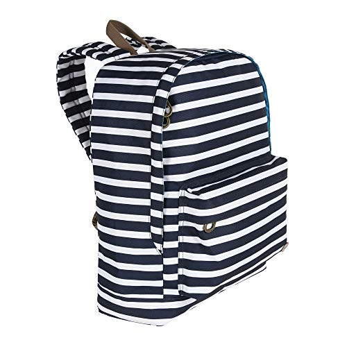 Regatta Print Day Hardwearing Backpack - Navy Stripe, 20 Litre