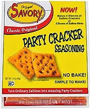 Savory Saltine Seasoning, 1.4 Ounce, Classic Original, 4 Pack