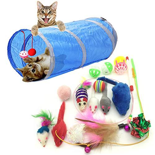 Topolini e animali giocattolo per gatti