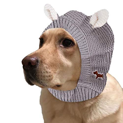 SOWLFE Weihnachten Hund Mütze, lustige Weihnachten Hund Mützen Mütze gehäkelt...