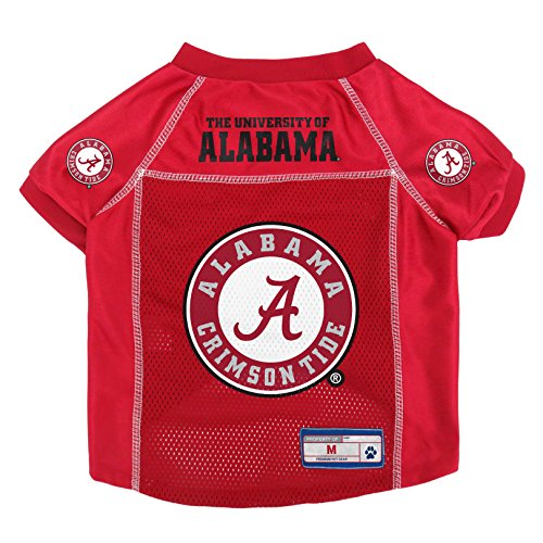 Littlearth NCAA Alabama Crimson Tide Pet Jersey, Medium