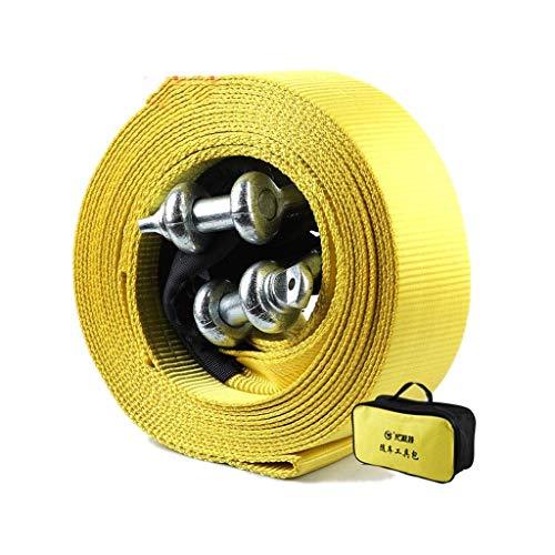 Why Should You Buy Tow Rope, Heavy Duty Tow Strap with Safety Hooks, 12 Tons 10 M Truck Tow Rope, Po...
