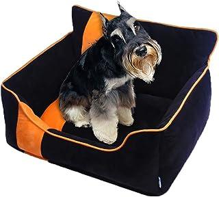 Pet Sofa S/M/L Dog Beds Waterproof Bottom Soft Warm Cat Bed Mats House Pet Dog Sleeper Sofa Bed Winter Warm Tower Rest Hou...