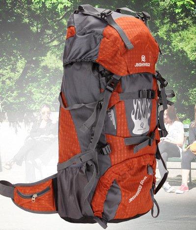 Imperméable à l'eau de sacs à dos sac à dos sport outdoor paquet pour hommes et femmes 60L double sac à bandoulière , green