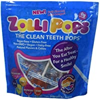Zollipops Clean Teeth Anti-Cavity Sugar Free Lollipops with Xylitol for a Healthy Smile