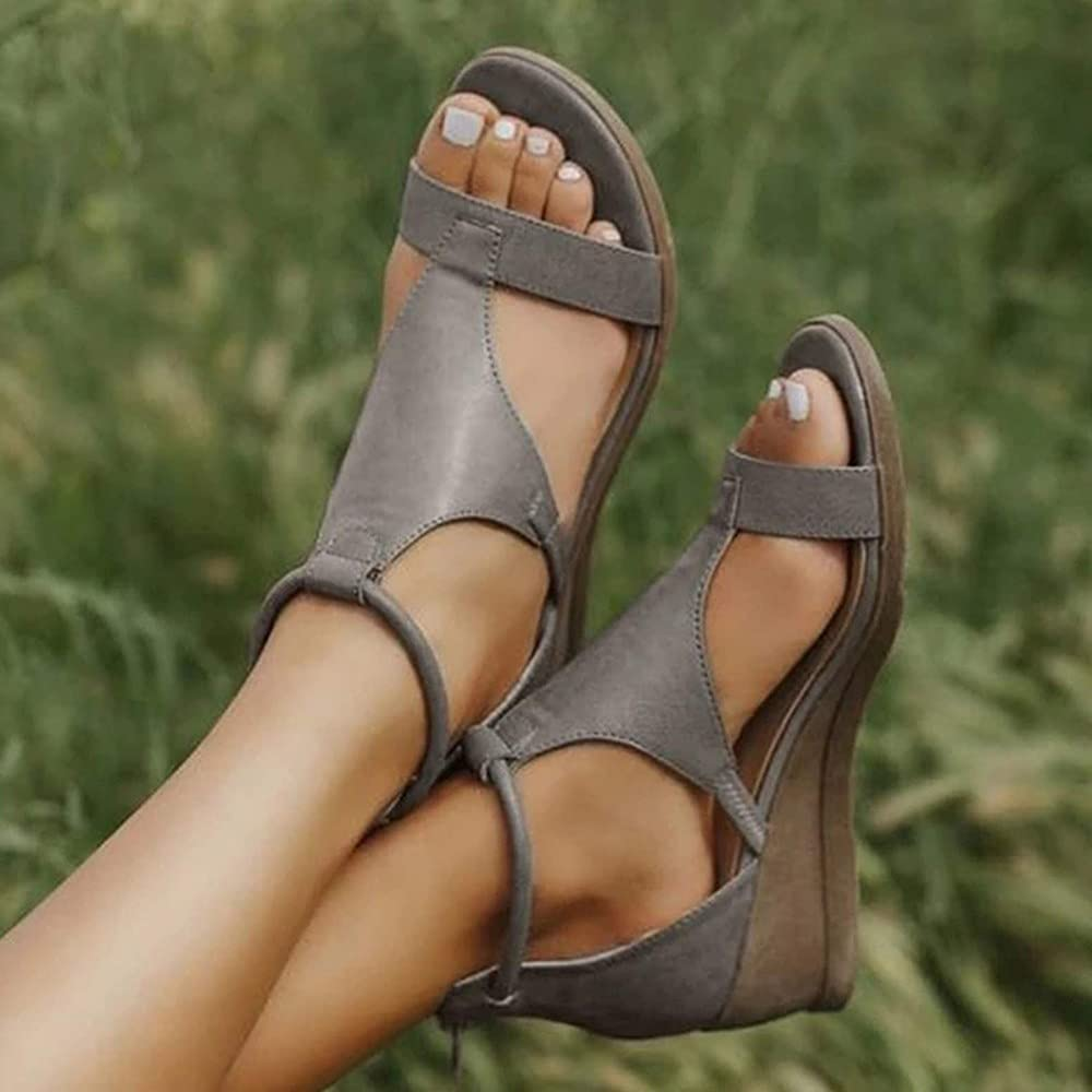 BAIYAN 2021 New Wedges Fashion for Sandals Women Wholesale S Heels Seattle Mall
