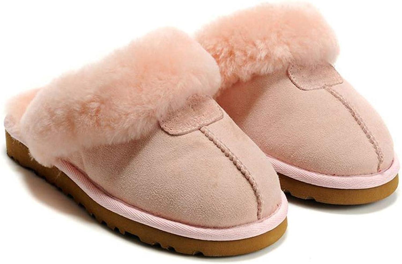 SED SED Casual Hausschuhe, Hausschuhe Unisex Faux Suede Furry Winter Pelz gefüttert Slip on Damen und Jentleman Luxus für In  zu verkaufen