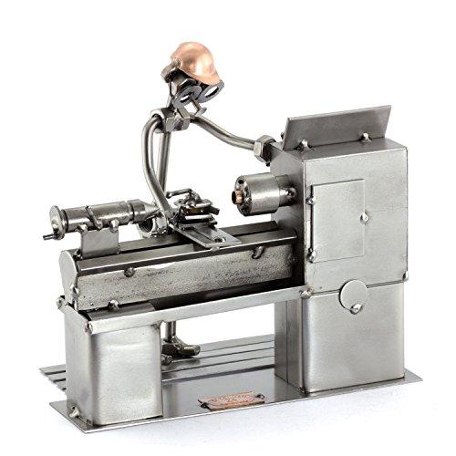 Steelman24 I Schraubenmännchen Dreher I Made in Germany I Handarbeit I Geschenkidee I Stahlfigur I Metallfigur I Metallmännchen