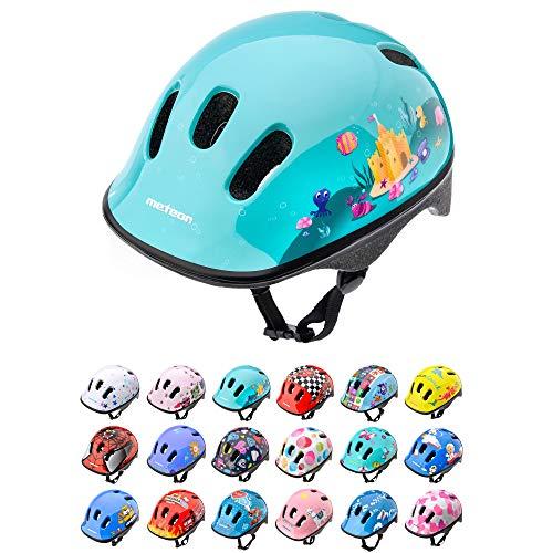 Casco Bicicleta Bebe Helmet Bici Ciclismo para Niño - Cascos para Infantil Bici Helmet para Patinete Ciclismo Montaña BMX Carretera Skate Patines monopatines (XS 44-48 cm, Magic)