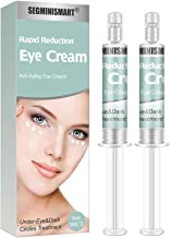 Rapid Reduction Eye Cream,Under-Eye Bags Treatment,Instant Results Depuffing Eye Cream,Fights Wrinkles and Fine Lines,Reduces Appearance of Dark Circles