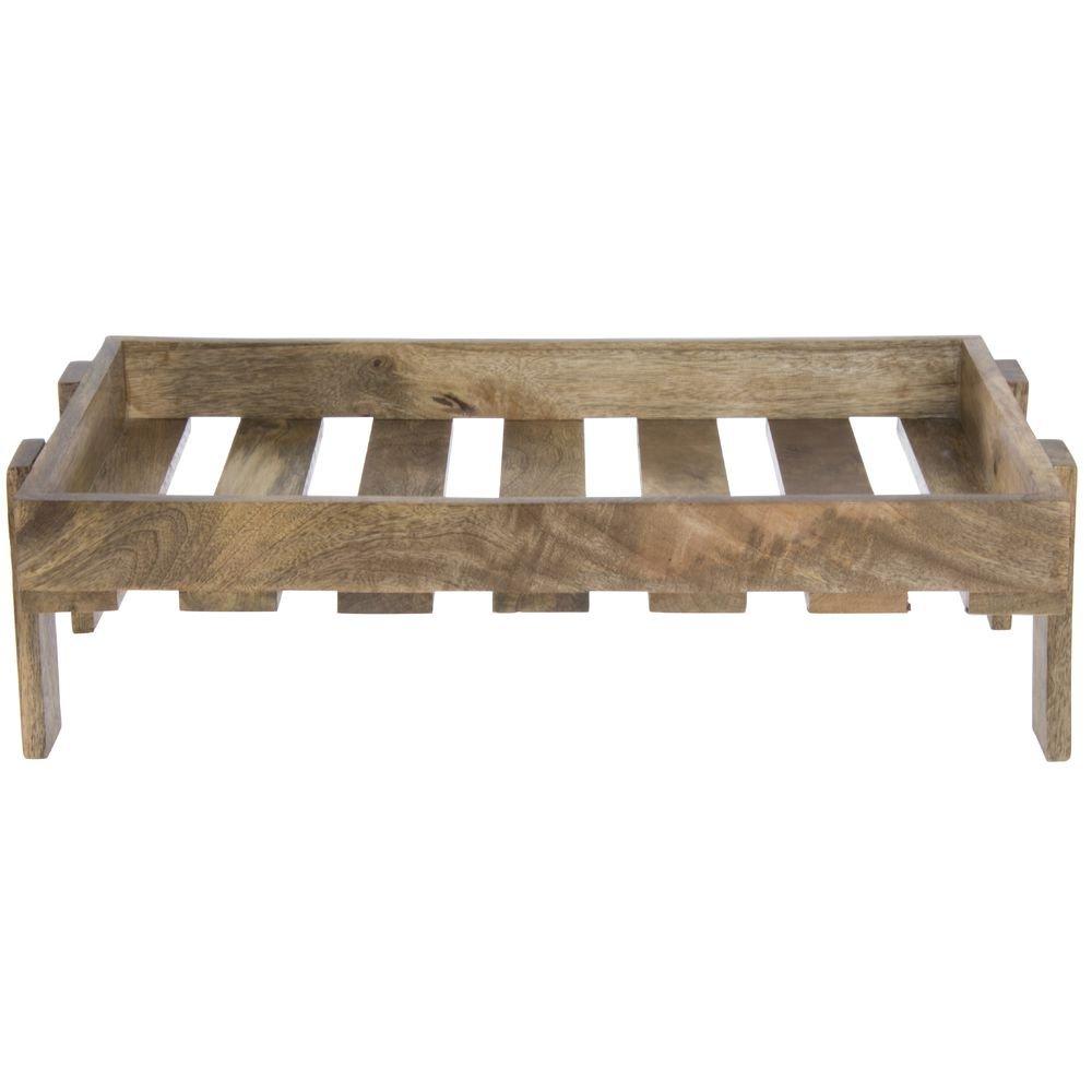 Hubert Tall Full Size Mango Wood Superior Riser - 4
