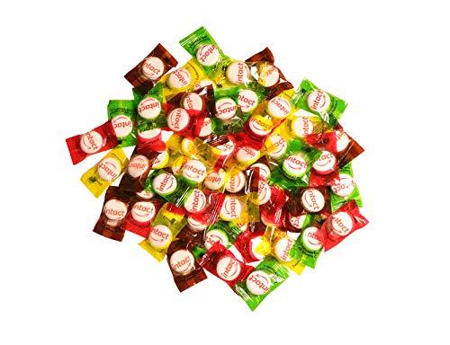 intact Kindermischung Traubenzucker im Beutel • 500 g Traubenzucker Bonbons einzeln verpackt • Vitamin C Traubenzucker mit verschiedenen Geschmäcken • Dextrose für Kinder