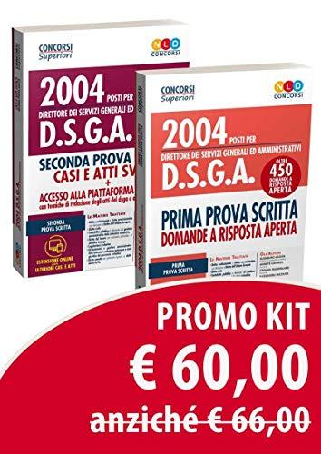 Kit Concorso DSGA: Manuale per la prima prova scritta-Manuale per la seconda prova scritta