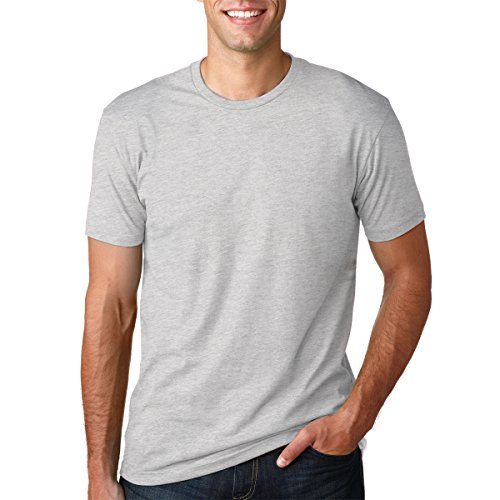 Fruit of the Loom Men's Stay Tucked Crew T-Shirt - Large - White (Pack of 6)