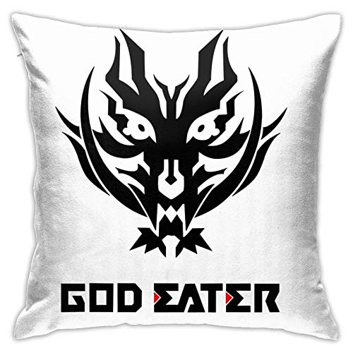 xiancheng God Eater 2 - Funda de cojín con logo y texto en inglés 'Rage Burst'