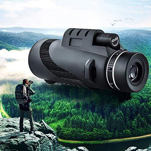 XBR Monokular Teleskop Hochleistungs 40 × 60 Kompaktes tragbares Monokular Zielfernrohr Mit Telefonclip & Stativ Für Smartphone Bd Mikroskope