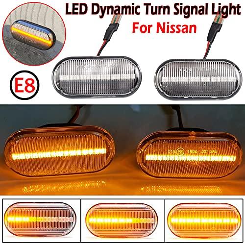 2 intermitentes laterales LED dinámicos con certificado N-