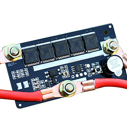 KKmoon 12V Batería de Almacenamiento de Energía Máquina de soldadura por Puntos Pluma PCB Placa de Circuito Corriente de Soldadura 90A ~ 130A