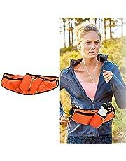 WENTS Sport heuptas heuptas heuptas buiktas voor drinkfles sport drinkriem waistpacks voor outdoor fitness uitvoeren fietsen wandelen wandelen (oranje)