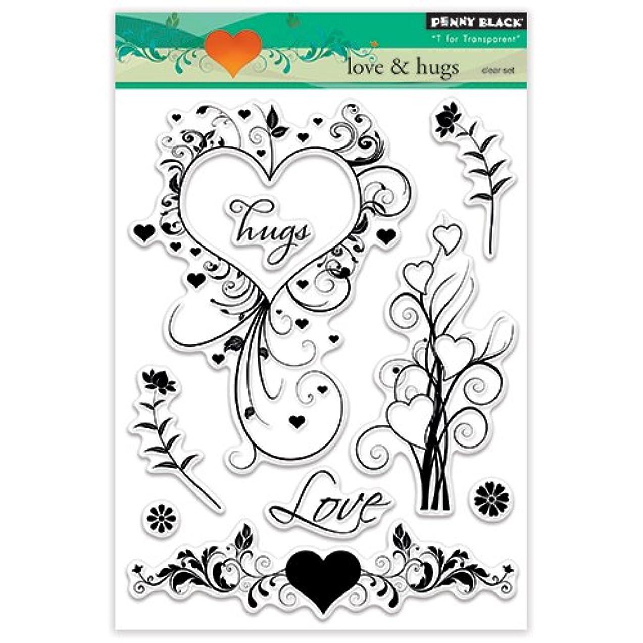 Penny Black 30-324 Love & Hugs Stamps, 5