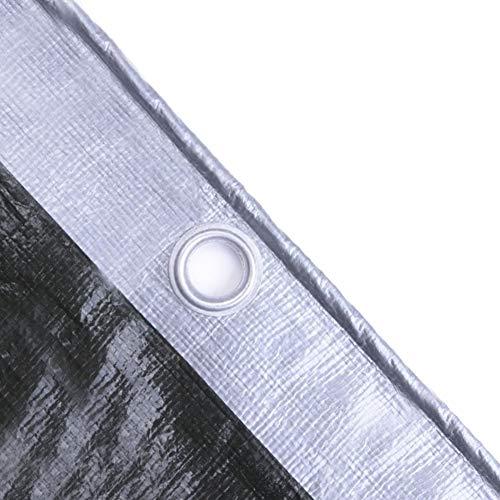 Bâche de Protection Haut de Gamme, Tissu antipluie d'ombre, Tente Polyvalente imperméable UV 190g / m² (Size : 6m×10m)