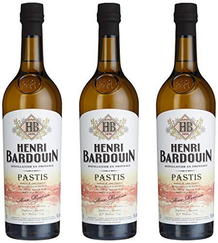 Pastis Henri Bardouin, 3er Pack (3 x 750 ml)