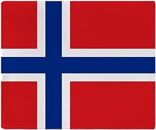 CafePress-Norway Flag-Soft Fleece Throw Blanket