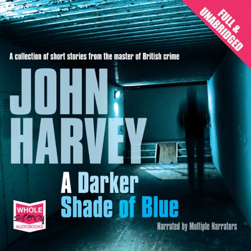 A Darker Shade of Blue audiobook cover art