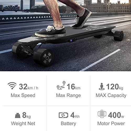 Elektro Skateboard GeekMe électrique Avec Bild 5*
