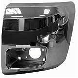 Chrome Finish Front Bumper Extension Outer for 07-13 Chevrolet Silverado 1500