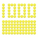 HeadShot Ammo for Toy Gun – Yellow Foam Balls Refill Pack, Compatible w/ Nerf Rival Prometheus and Other Nerf Rival Toy Guns for Boys & Girls, 1,000-rounds Rounds of Bullets