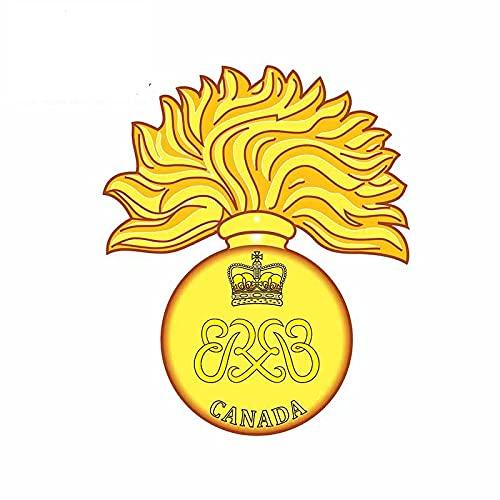 A/X 13cmx10.5cm Etiqueta engomada del Coche Royal Gurkha Rifles Brigade of Gurkhas Cap Badge Británico