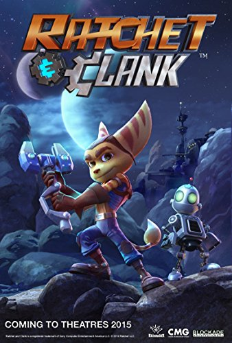 Poster Ratchet and Clank Movie 70 X 45 cm