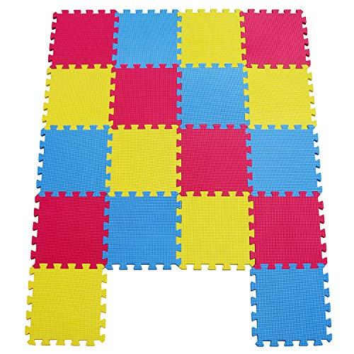 MU SHEN Alfombras Puzzle para Beb/é Alfombrilla Ni/ño Suelo Goma EVA 142 X 114 CM 050709