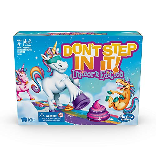 Games- de los cuales Step in It Unicorn Poop Edition, E2645UC3, Multicolour...