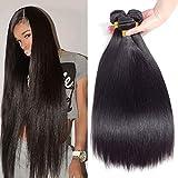 """Best Grade Of Human Hair Weaves - 10A Brazilian Virgin Straight Hair 3 Bundles 10"""" Review"""