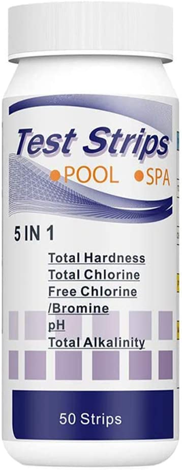 Max 56% OFF 50PCS Test Strips Measuring Paper 5 Dipping Water T popular in 1 Quality