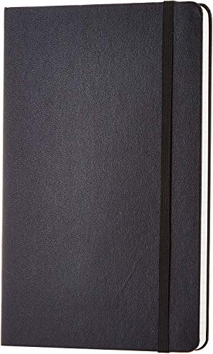 Amazon Basics Notizbuch, klassisches Design, groß, liniert