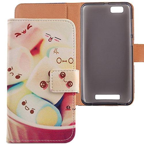 Lankashi PU Flip Leder Tasche Hülle Hülle Cover Schutz Handy Etui Skin Für ZTE V6 Max/Blade A610 / Blade A612 5