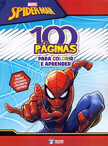 100 Paginas Para Colorir - Spider Man