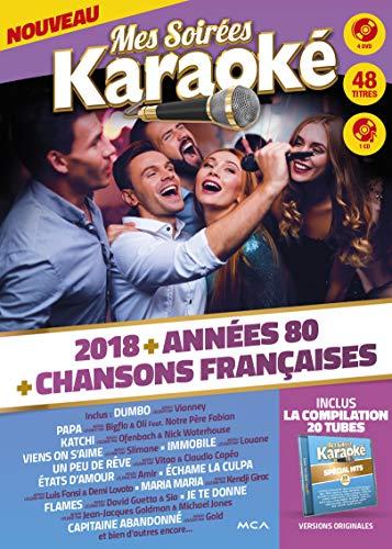 Mes Soirées Karaoké 4 DVD 2018
