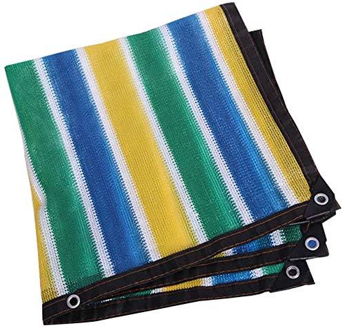 FSBYB Shading net verdicken Verschlüsselung Sonnenschutz Vier Farbton Wärmeisolierung Netto-Balkon Pool-Pavillon Sonnenschutz,3mx10m